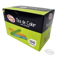 Tiza Colores 100 unid.
