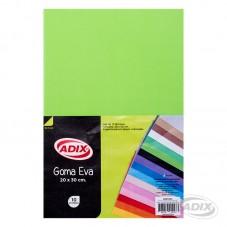 Goma Eva Verde Claro