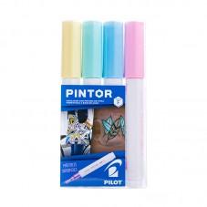 Set Pintor Fino 4 unidades...