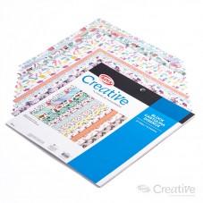 Cartulina 12 Diseños...