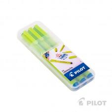 Marcador Lettering Pen Azul...