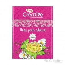 Libro para Pintar Flores...
