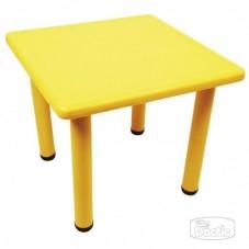 Mesa Cuadrada Amarilla