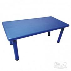 Mesa Rectangular Azul