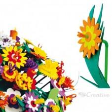 Set Flores Goma Eva para armar
