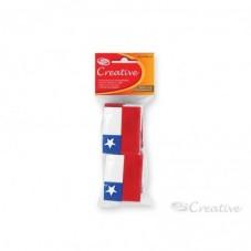 Banderas Chilenas Goma Eva