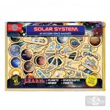 Sistema Solar Magnético Madera