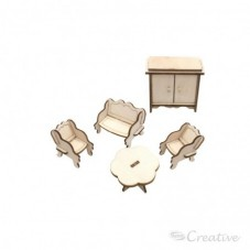 Mueble Miniatura Armable...