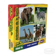 Puzzles Animales de la Selva
