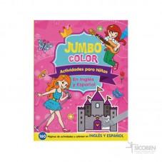 Libro Jumbo Color Niñas