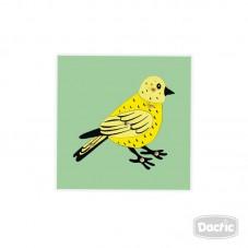 Encaje de Pájaro Madera con...