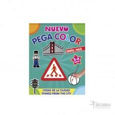 Libro Pega Color Cosas de...