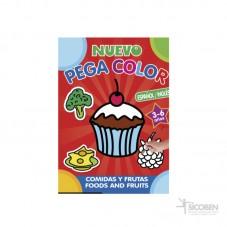 Libro Pega Color Comidas y...