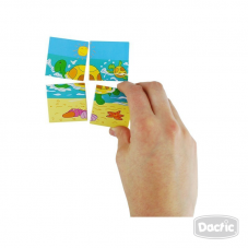 Puzzle Secuencia Tortuga