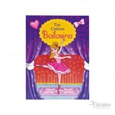 Libro tus colores Bailarina