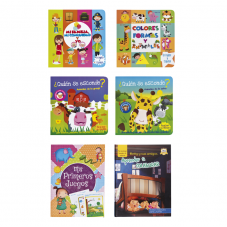Pack 6 Libros Infantiles