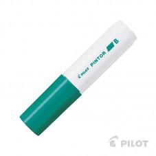 Marcador PINTOR Biselado Verde
