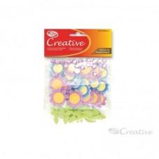 Flores de Goma Eva Adhesiva...